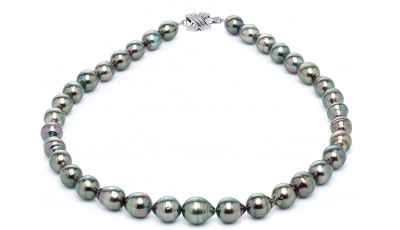Tahitiparelketting Baroque druppelvorm 11-14 mm