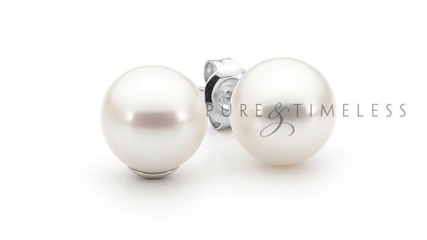 Zilveren oorstekers 10 MM AAA kwaliteit