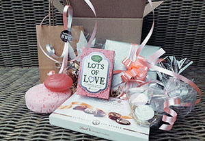 gift box love thema