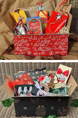 gift box sinterklaas en kerst