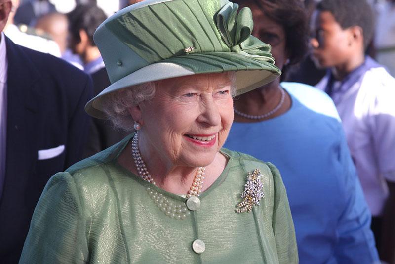 Koningin Elizabeth parels